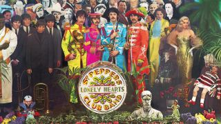 The Sgt. Pepper cover