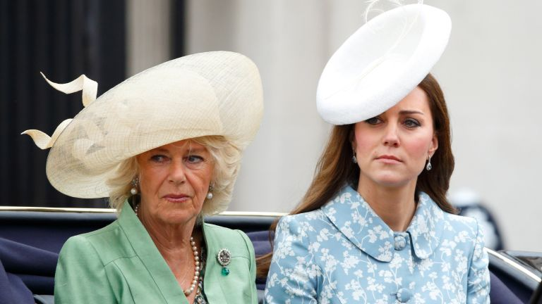 Duchess of Cornwall and Kate Middleton