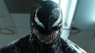 Venom at the end of the first movie
