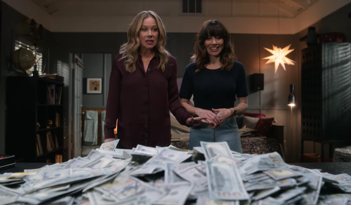 dead to me season 2 jen and judy and a pile of cash