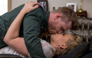 Emmerdale spoilers! David and Tracy Metcalfe get it on - but are the estranged couple back together for keeps?