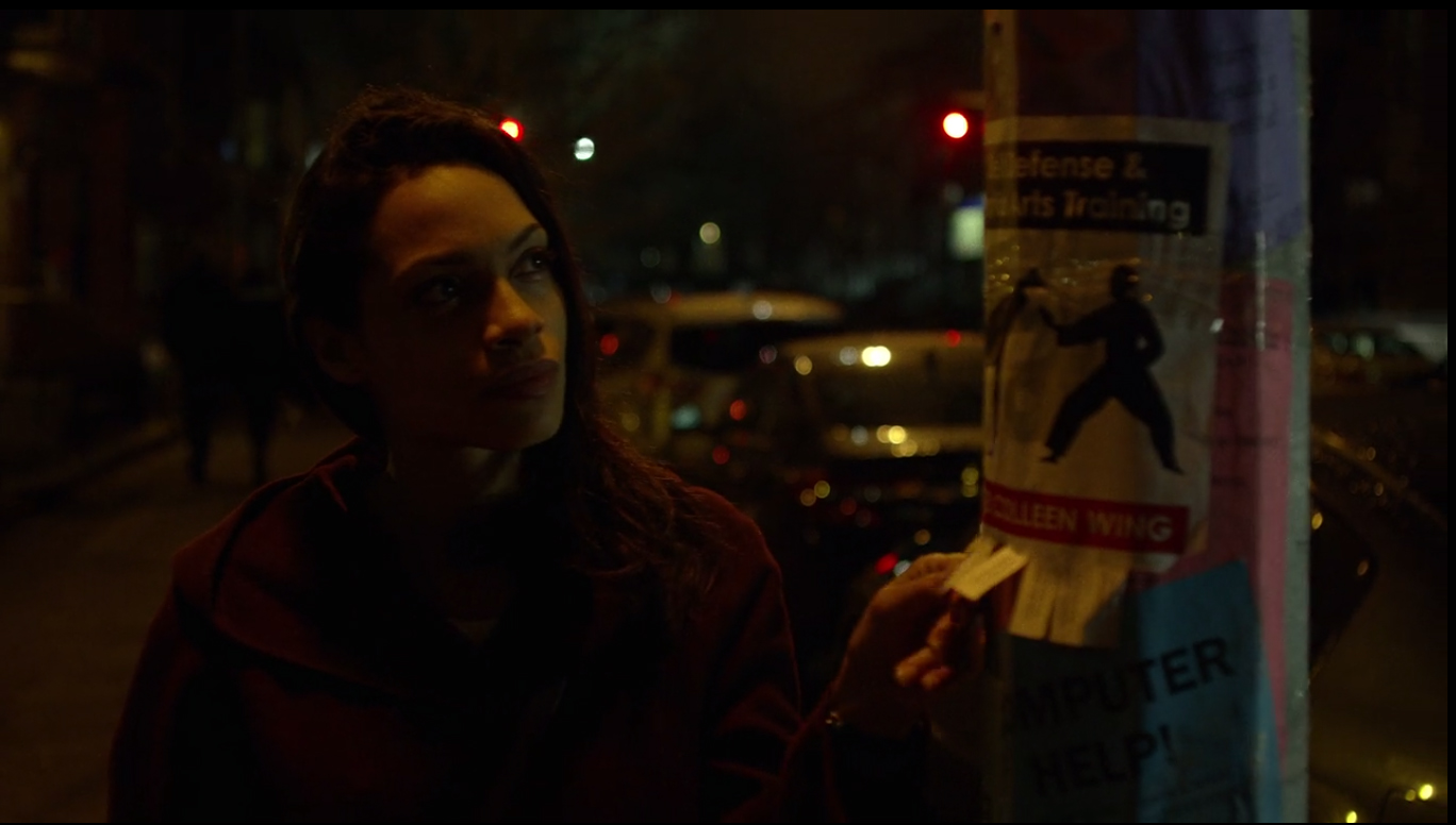 Colleen Wing Luke Cage