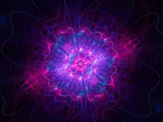 higgs boson trippy illustration