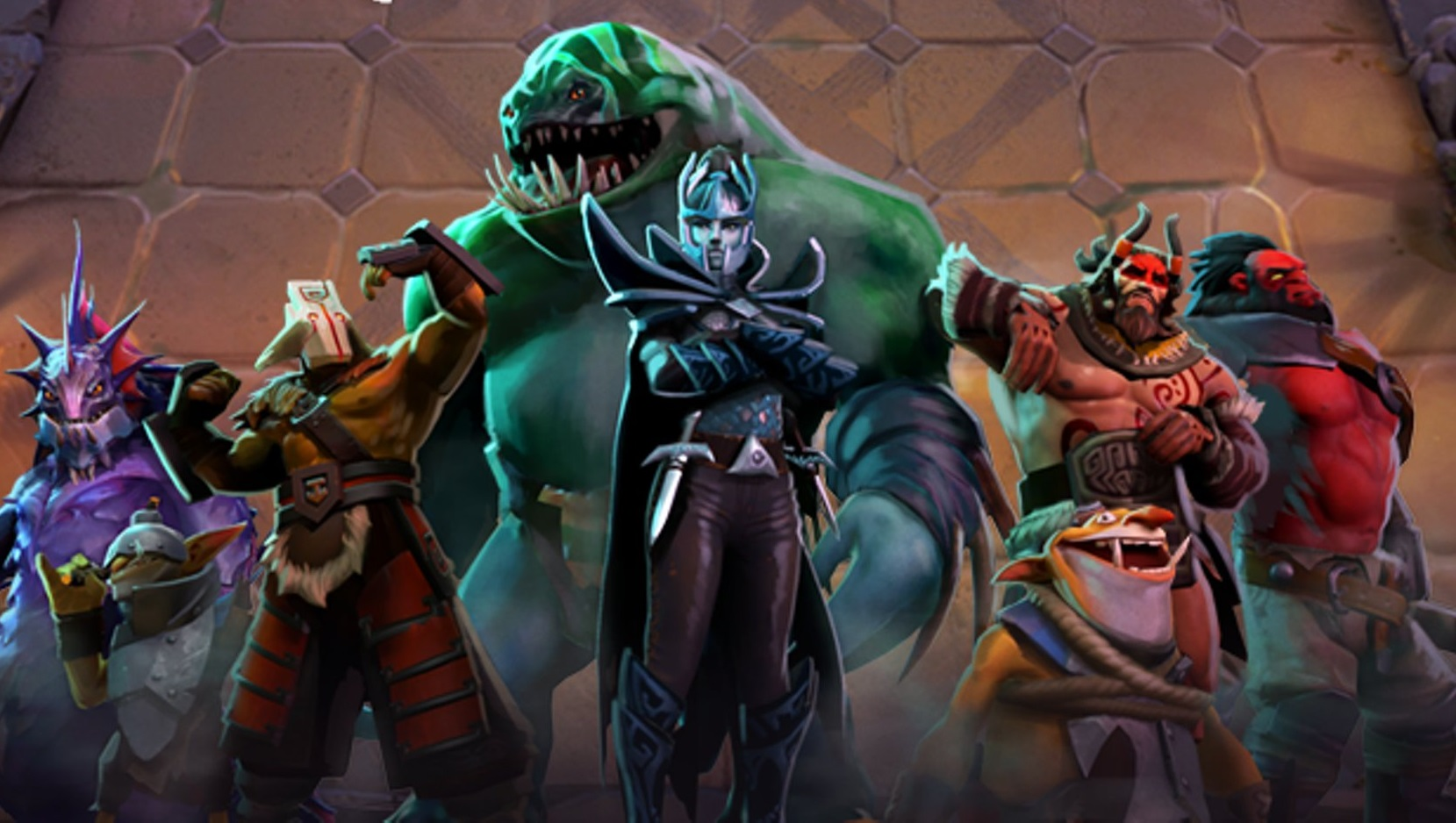 Dota Underlords has more than double Artifact's peak player count   PC Gamer