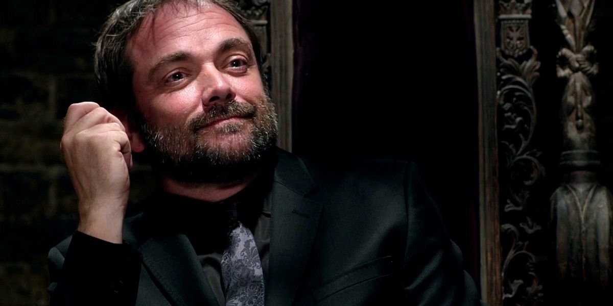 Crowley in Supernatural.