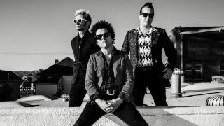A promotional picture of Green Day
