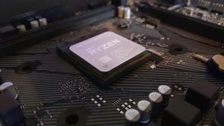 AMD chip in motherboard