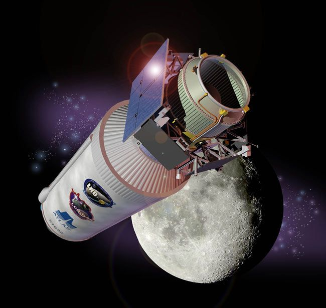 NASA Slammed a Rocket Body Into the Moon for Science 10 Years Ago Today - Space.com