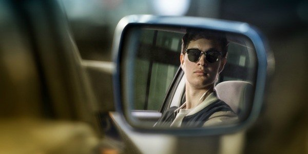 Baby Driver Rear View Mirror Ansel Elgort