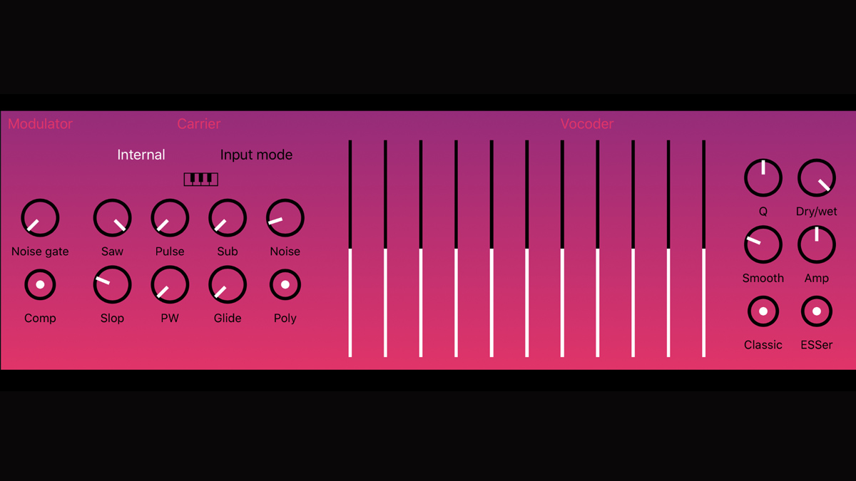 BeepStreet's DerVoco is a vintage vocoder plugin for your iPhone and