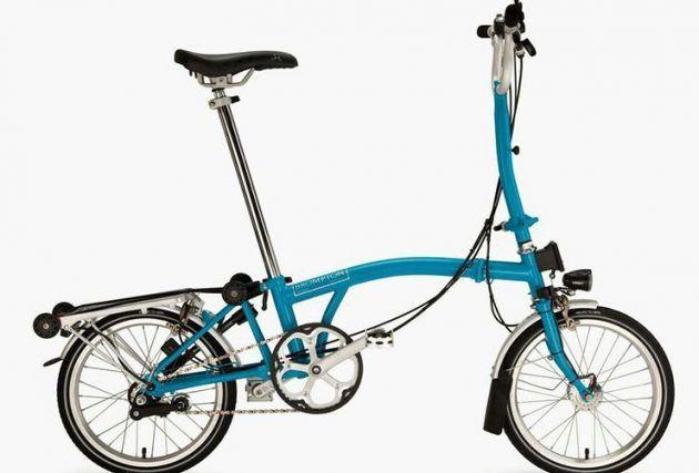Brompton folding bike best commuting bike