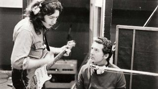 Rory Gallagher and Jerry Le Lewis in 1971