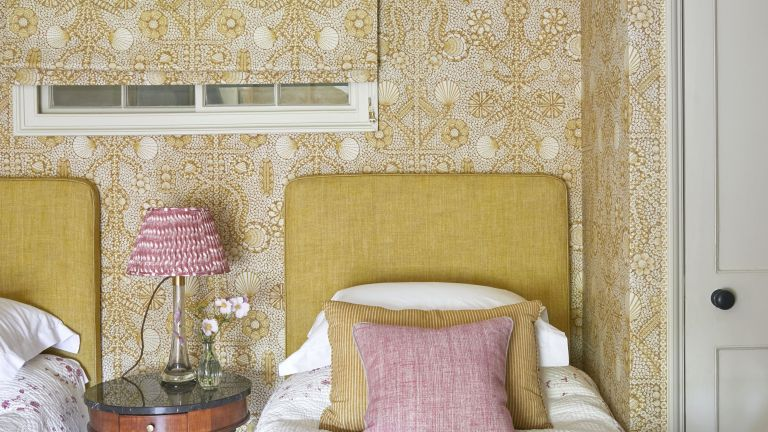 Upholstered walls trend