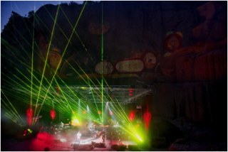 AV Stumpfl's Event Production for Pink Floyd Tribute Concerts