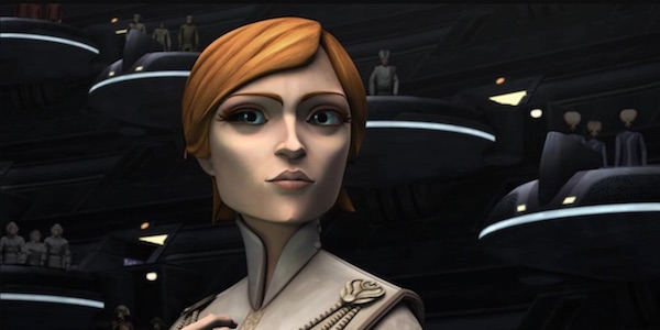 Mon Mothma At The Senate In Star Wars Rebels