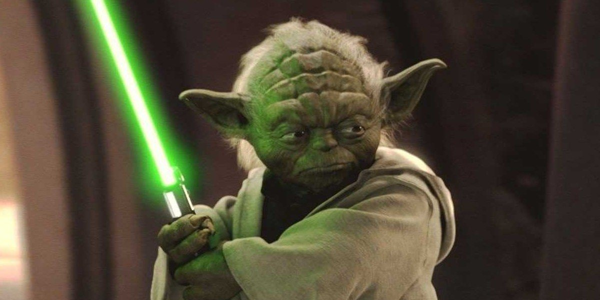 Frank Oz as Yoda in Star Wars: Episode II - Attack of the Clones