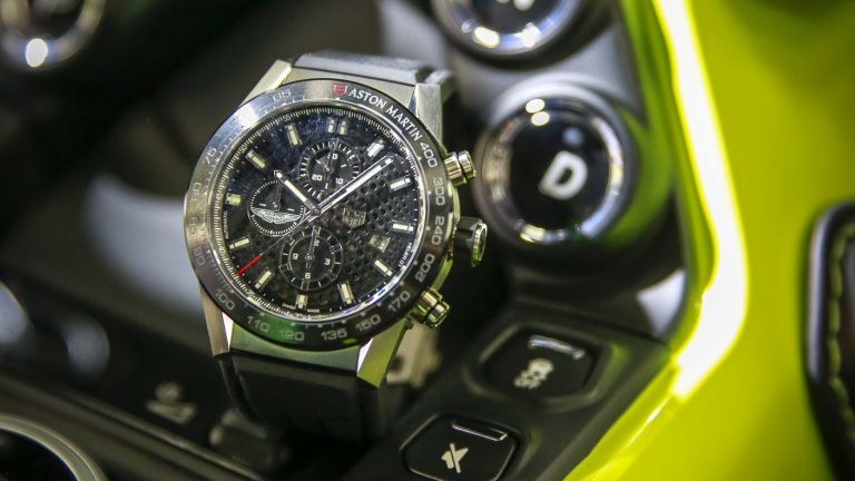 Aston Martin TAG Heuer watches