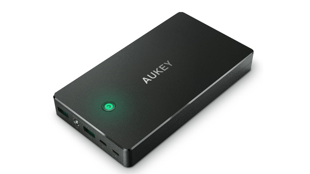 Aukey power bank 20,000mAh