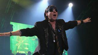 Scorpions frontman Klaus Meine at their 'final' show