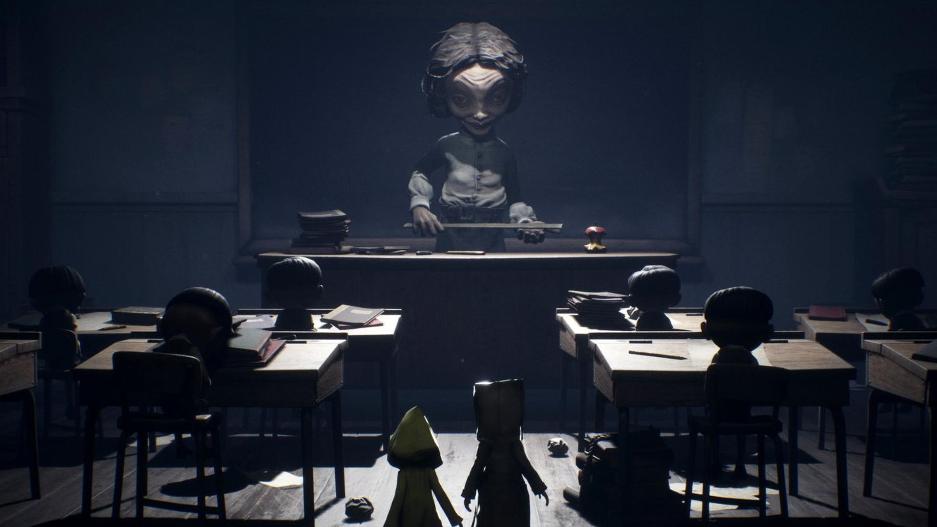 Little Nightmares 2 gameplay debuts an extremely creepy school