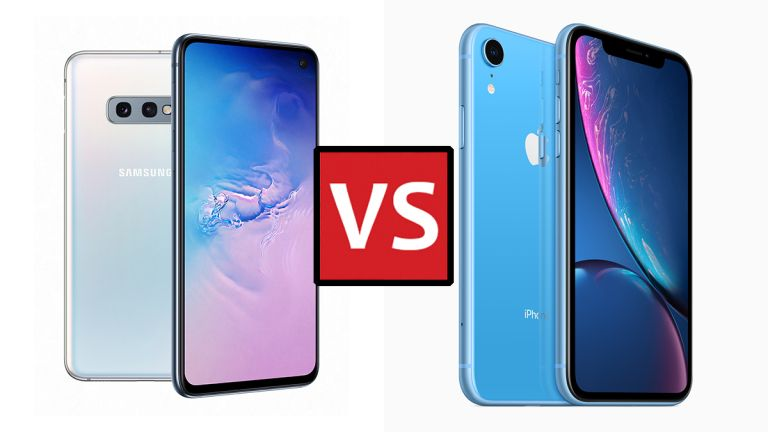 Samsung Galaxy S10e vs Apple iPhone XR