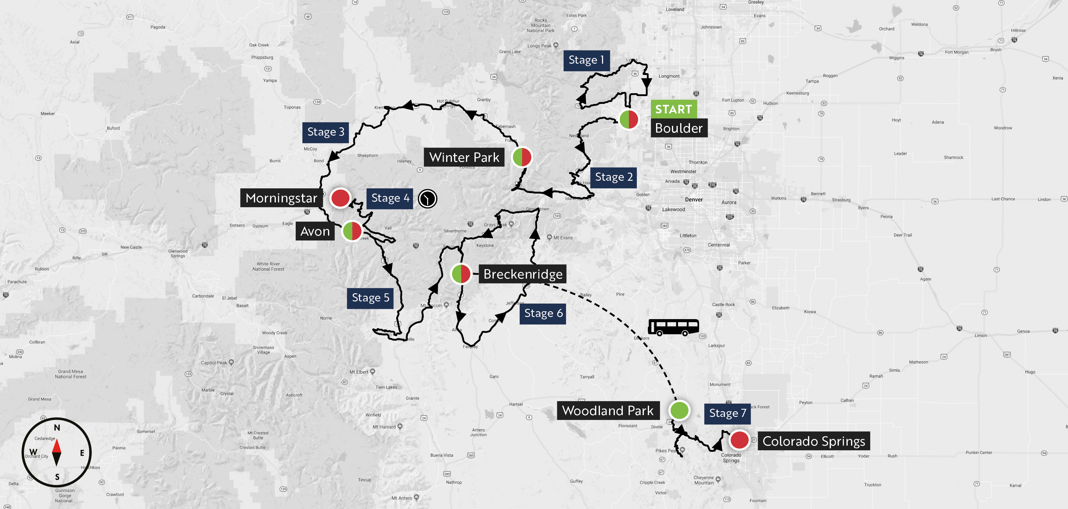 Mavic Haute Route Rockies 2018 route unveiled: over 15,000 metres of climbing