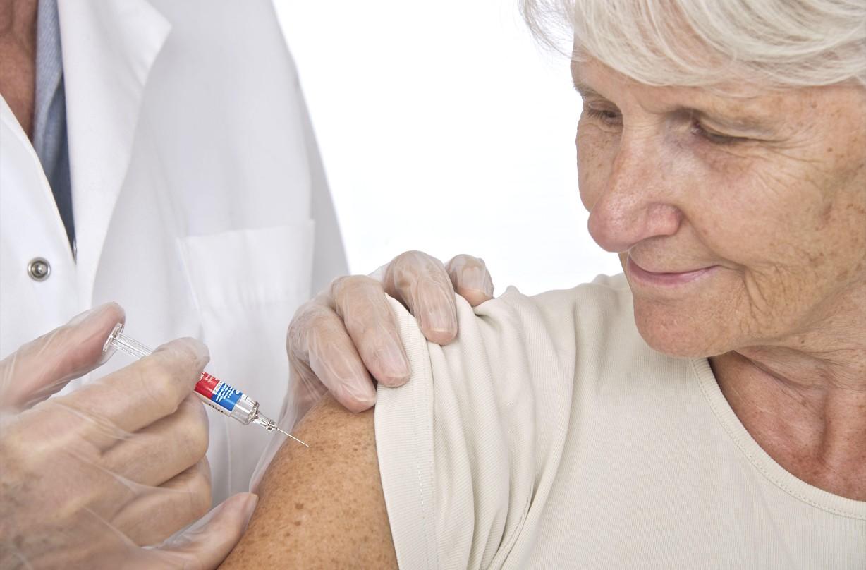 Flu vaccine, elderly