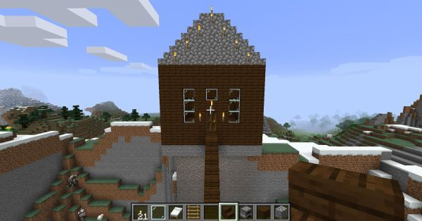 Minecraft House How To Build A House In Minecraft Pc Gamer