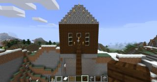 Astounding Minecraft House How To Build A House In Minecraft Pc Gamer Download Free Architecture Designs Osuribritishbridgeorg