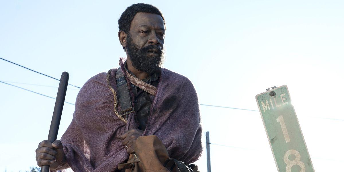 Morgan in Fear The Walking Dead.