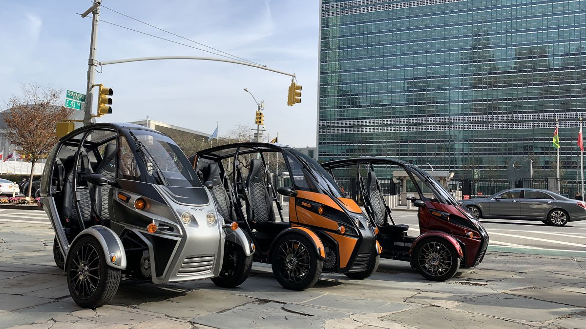 I drove a three-wheeled electric vehicle in NYC and lived to tell about it