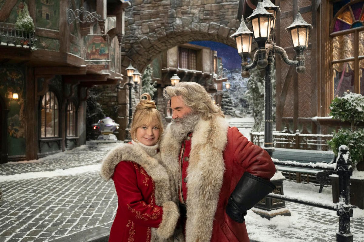 Kurt Russell and Goldie Hawn in The Christmas Chronicles 2