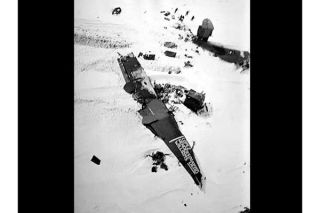 Antarctic crash