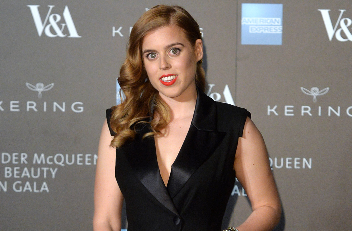 Princess Beatrice Made This Poignant Change To Her Wedding Dress