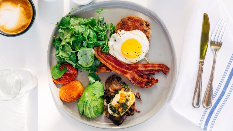 Bacon and eggs, part of the ketogenic diet