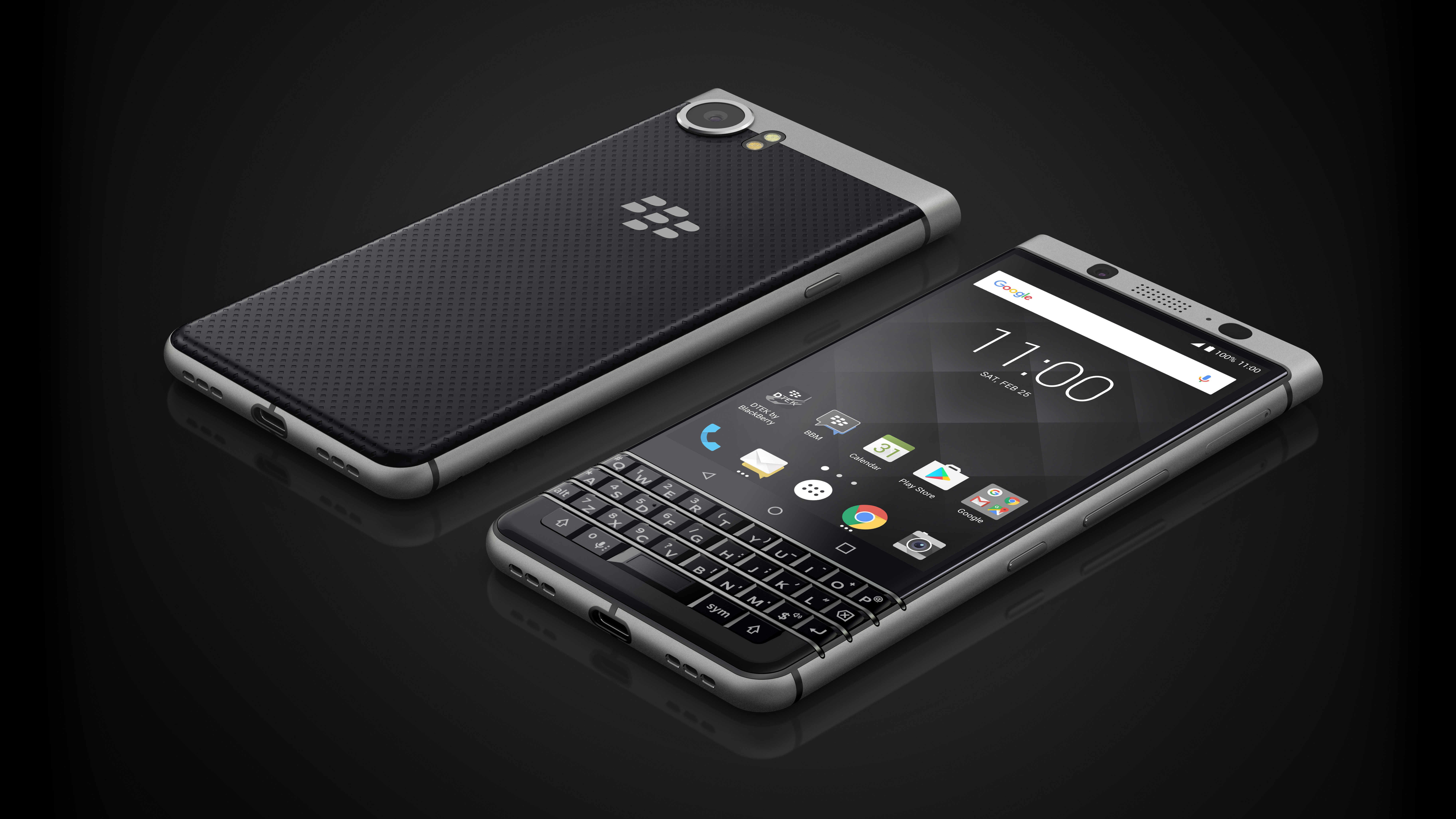 A new BlackBerry phone with no keyboard is on the way soon