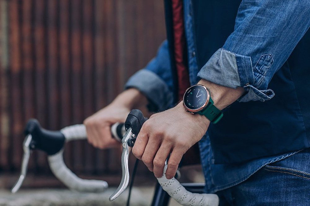 smartwatch cycling