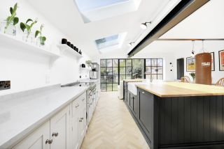 Building an extension with rooflights