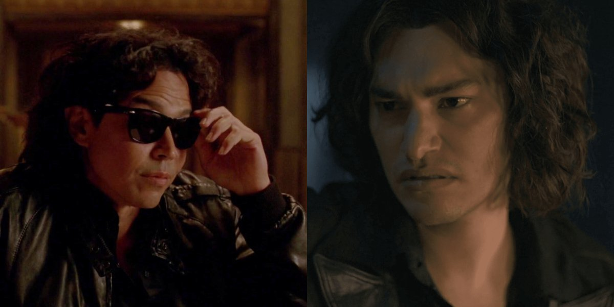 Anthony Ruivivar and Zach Villa both play Richard Ramirez at different times in his life on American