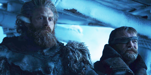 Tormund Giantsbane Beric Dondarrion Kristofer Hivju Richard Dormer Game of Thrones HBO