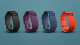 The Fitbit Charge HR fitness tracker