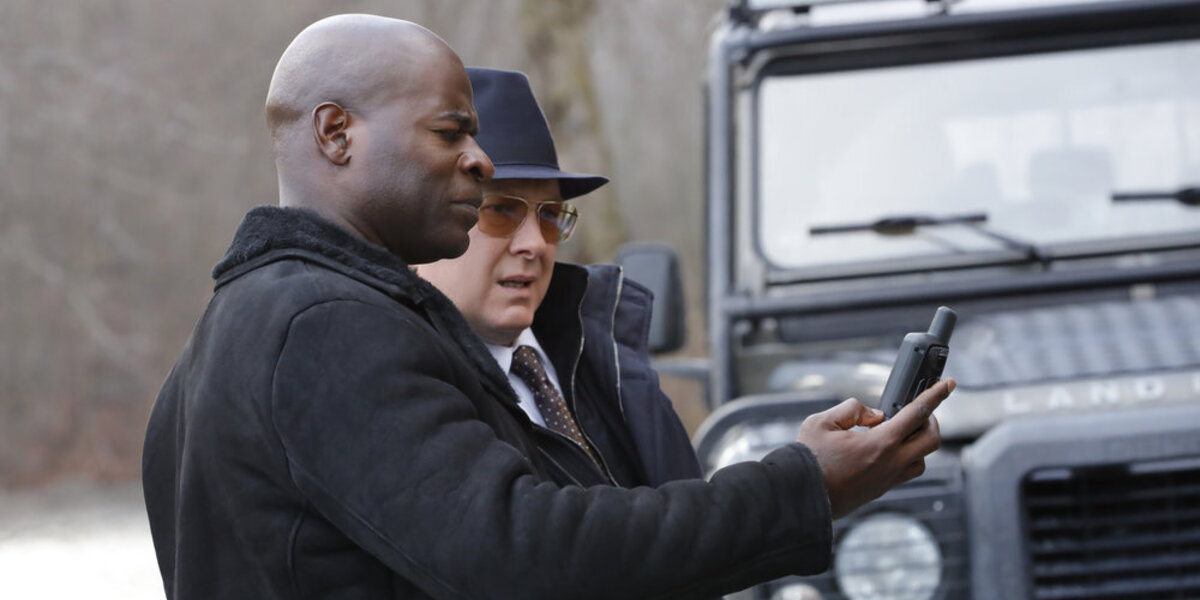 The Blacklist Hisham Tawfiq Dembe Zuma James Spader Raymond Red Reddington NBC