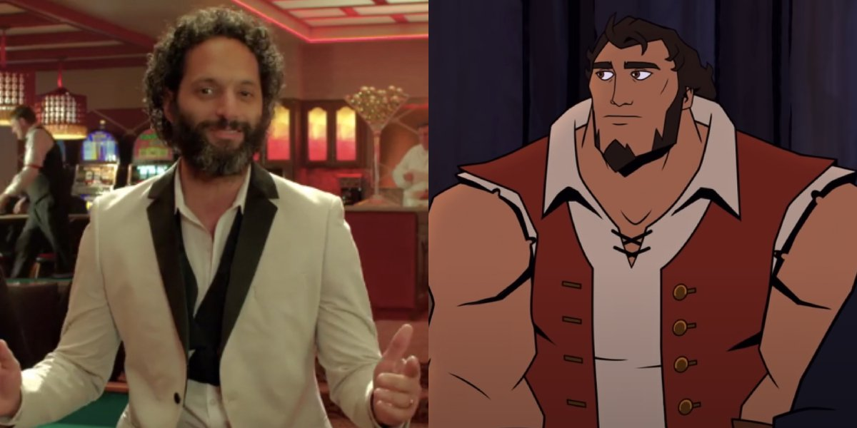 Jason Mantzoukas and Samuel Adams from America: The Motion Picture