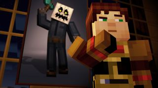 Minecraft Dungeons character
