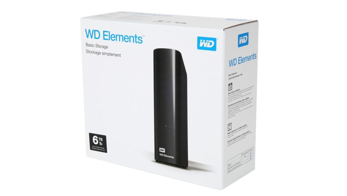 This 6TB WD Elements has the cheapest per TB storage price ever