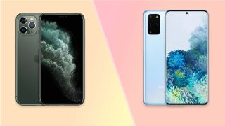 galaxy s20 plus vs iphone 11 pro