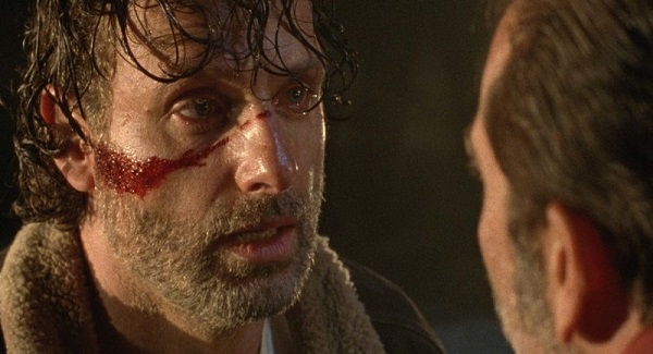 rick walking dead season 7 premiere