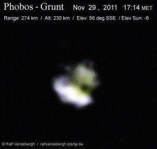 Martian moon Phobos skywatch
