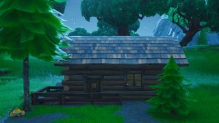 Fortnite search between rotary phone fork knife hilltop house