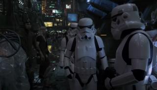 A shot from Star Wars: Underworld